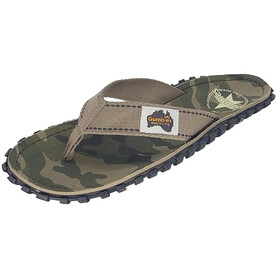 GUMBIES Islander Canvas Thongs camouflage